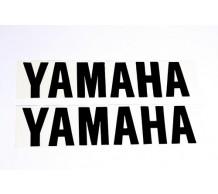 Stickerset Yamaha Zwart