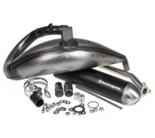 Tecnigas E-NOX-Steel Uitlaat Malaguti XTM / Motorhispania RYZ / Yamaha DT50R
