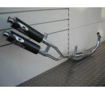 Turbokit Dos Salidas Uitlaat Derbi GPR 1999-2004