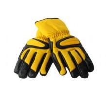 Winterhandschoenen Zwart/Geel (XL)